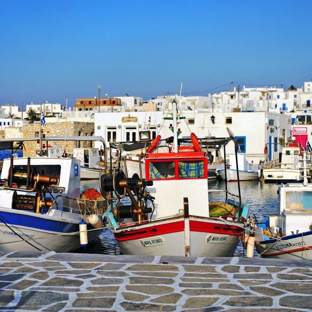 Paros old Port